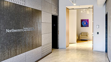 Office of Global Marketing and Communications entrance