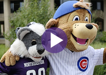 Clark the Bear and Willie the Wildcat