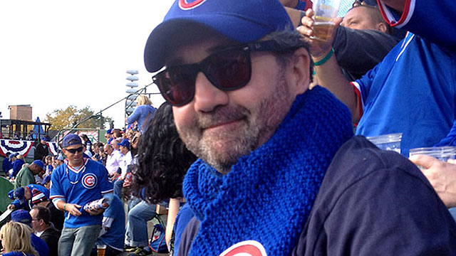 Bill Savage at Wrigley Field