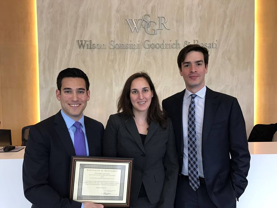 Northwestern Team Wins LawMeet Start-Up Competition