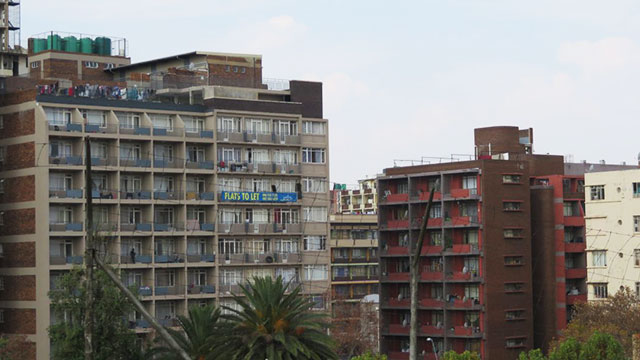 A view of Hillbrow, a suburb of Johannesburg, South Africa (courtesy Erik Ponder).