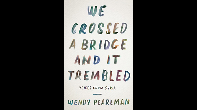 "The book cover of ""We Crossed a Bridge and it Trembled"""