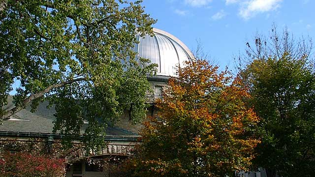 Dearborn Observatory's dome
