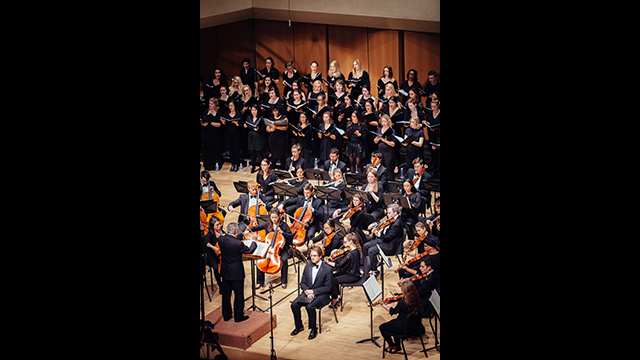 Northwestern University Symphony Orchestra and Choirs by Noah Frick Alofs
