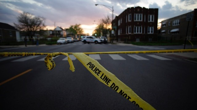image with yellow crime scene tape