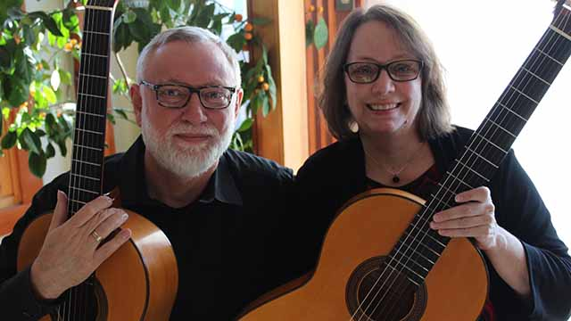 The Waller and Maxwell Guitar Duo perform in the Segovia Classical Guitar series March 1, 2019