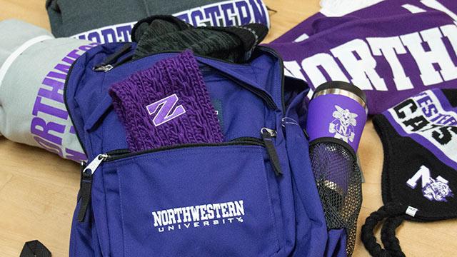 Northwestern Bus Caravan Rockets To Big Ten Championship Northwestern Now