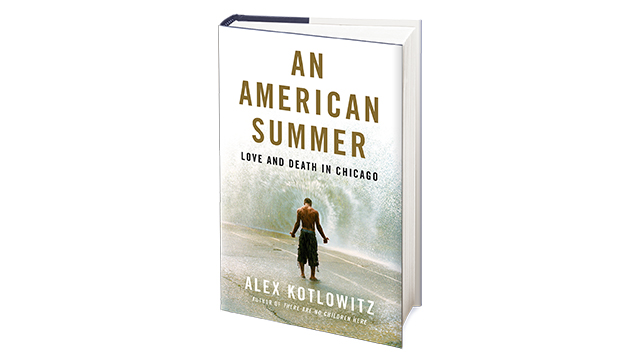 "Cover of the book ""An American Summer"""