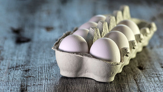 Higher egg and cholesterol consumption