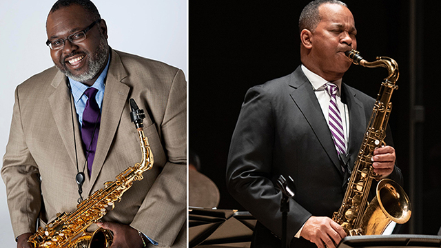 Sherman Irby, Victor Goines and Bienen jazz students perform April 20 in Galvin Hall