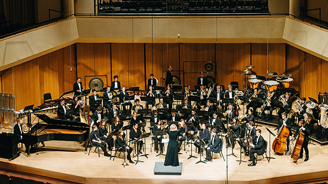 The Symphonic Wind Ensemble at Northwestern 50th anniversary concert will be held June 9 in Pick-Staiger Concert Hall