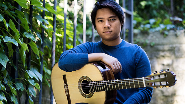 Bienen School of Music student An Tran closes the Segovia Classical Guitar series May 9, 2020